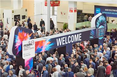 The opening of Fespa 2019