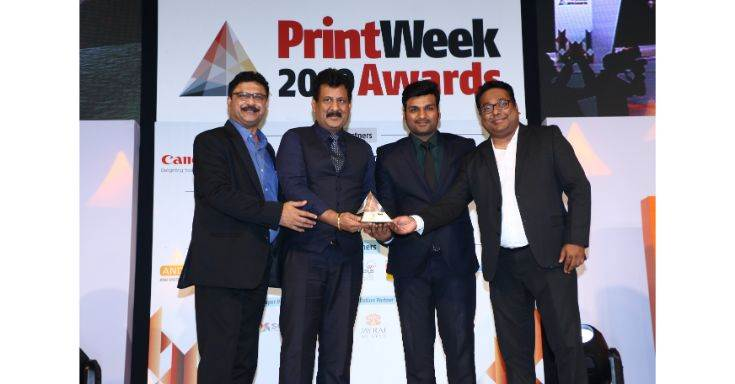 Delhi's Any Graphics is the Label Printer of the Year (Joint winner)