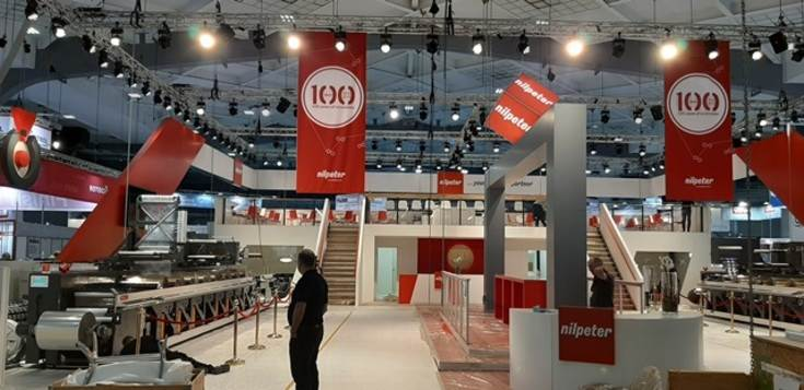 Nilpeter celebrates 100 its years journey at the show