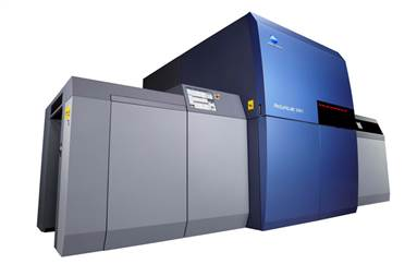 The UV LED digital inkjet sheetfed printer comes equipped with many advanced capabilities