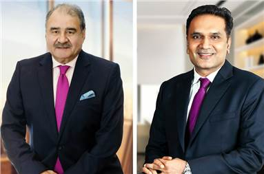 (l-r) Ashok Jaipuria, chairman and managing director, Cosmo Films and Pankaj Poddar, group CEO, Cosmo Films