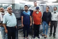 The Gulati family with the new RMGT 920ST