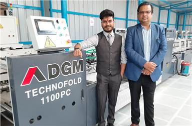 (l-r) Akshat Jain of Omege and Puneet Aggarwal of DGM India