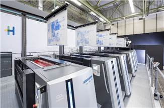 Heidelberg puts its automation prowess in spotlight