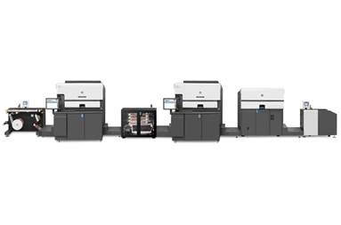 HP Indigo 8000 digital press
