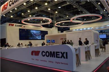 The Comexi stall during K 2019 Fair