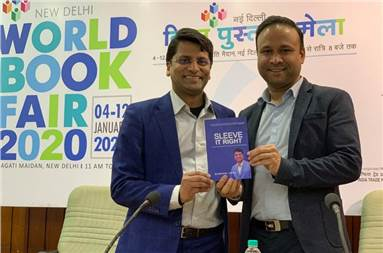 Chetan Jain, executive director, Taurus Packaging, during the launch of his book, Sleeve It Right