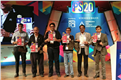 Representatives from BMPA and sponsors of the event unveil the Print Summit 2020 souvenir