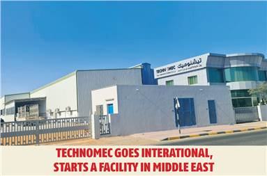 With its new facility in Ras-Al-Khaimah, UAE, the company now aims to produce close to 70,000 electronically engraved cylinders annually