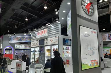 The Uflex stall at CPHI India 2019