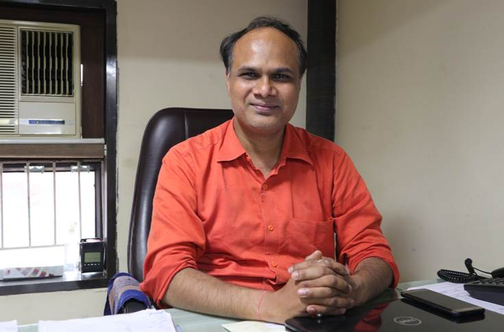 Hemant Kothari, proprietor, Paras Graphics, a major consumable supplier in Ahmedabad