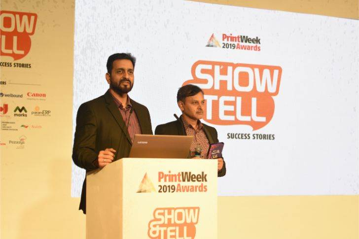 We are not selling packaging. We are selling sales people for the brand with every package, Shailesh Potdar and Abodh Dixit of Parksons assert during Show & Tell hosted by PrintWeek