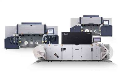 Durst unveiled the Tau 330 RSC at Labelexpo 2017 in Brussels