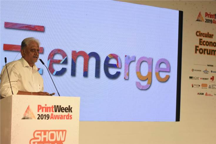 Eemerge is a patented technology for the display of art, or as Vinay Mehta of Eemerge assets, art of display, which combines printing and corrugation to create something unique