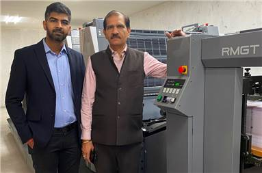 (l-r) Himanshu and Naresh Chandna of SPPL with the new RMGT