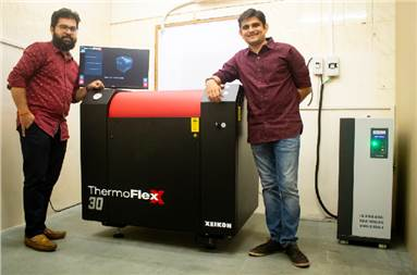 Sheth (r) and Pimpale: entering the digital space in flexo