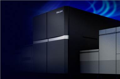 The Pro Z75 will harness Ricoh's drying technology and auto-duplexing