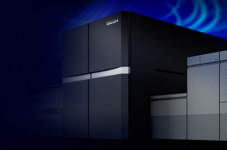Ricoh has introduced its first B2 sheetfed inkjet system, Ricoh Pro Z75. The  press with is built to help businesses reach new benchmarks for  productivity, image quality and operating costs.