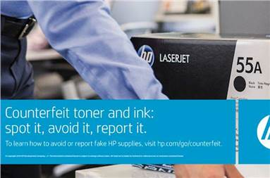 Through the ACF programme, HP aims to protect businesses from the problems that can result from counterfeit supplies