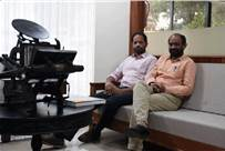 Thomas (l) and Pradeep are working with international associations to address the knowledge gap in standardisation of print in India