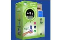 Surf Excel, Comfort and Vim products can be refilled from the machine