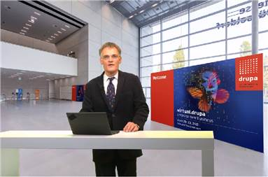 Claus Bolza-Schünemann, president of Drupa Committee
