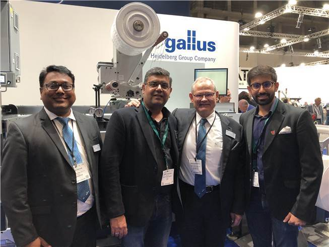 Kwality inked the Gallus deal during the last Labelexpo Europe