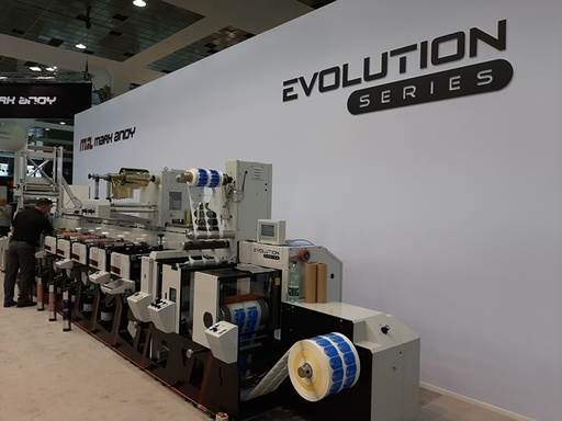 The Digital Pro is a modular four-colour toner system, which would be available as a roll-to-roll model or as an advanced inline hybrid with semi-rotary die-cutting