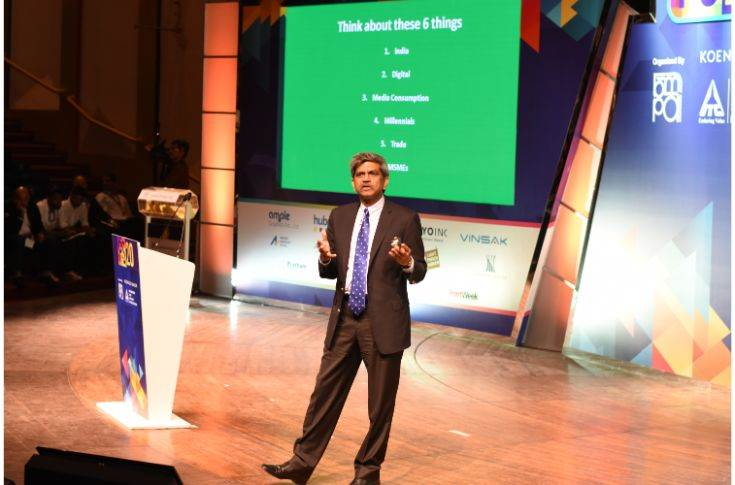 D Shivakumar, group executive president, Aditya Birla was the keynote speaker who discussed about the shape of business in the next decade