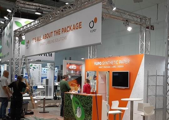 Yupo displayed in-mould label materials, label papers, pressure-sensitive films & security materials