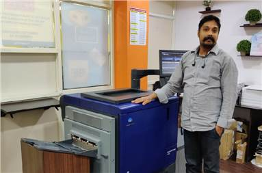 """Kumar: """"The press is a true mix of performance, productivity, and profitability"""""""