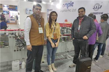 Team Ample with Ruchipack