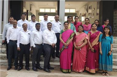 Faculty Members of Dept of Printing Technology with team SGSCO