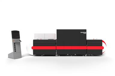 The Xeikon PX30000 UV inkjet press