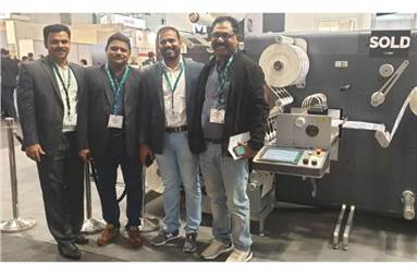 Team Xpress at Labelexpo Europe 2019 where the Indigo 6900 deal was confirmed