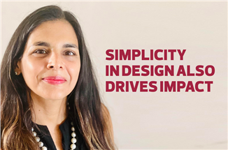 Simplicity in design also drives impact