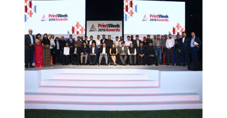 Winners of PrintWeek Awards 2019