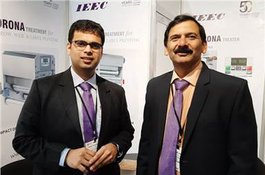 (l-r) Rohit Deshpande and Pramod Arage of IEEC Power Electronics