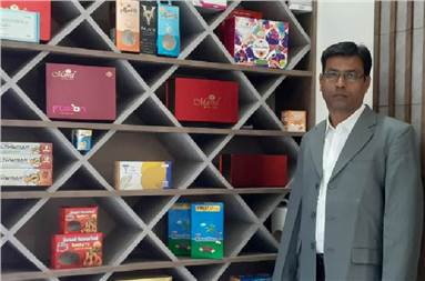 Gopal Vachheta, managing director of Print Pack Solutions, Ahmedabad