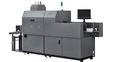 The Duplo DDC-810 can run 36 A4 sheets per minute
