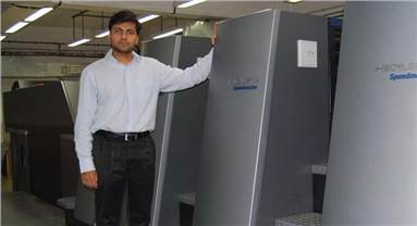 Abhishek Kejriwal, director of Parksons Graphics