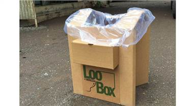The lightweight, foldable, and an anytime, anywhere usable Loo Box