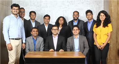Management team of Bizongo: Top row (from left to right) - Hersh, Ankur, Aseem, Gulshan, Arjita, Vijit, Shashank, Shalmali; Bottom row -  Sachin, Aniket and Ankit