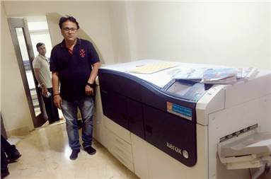 Arun Singhania of Softlink Scanner with the Xerox Versant