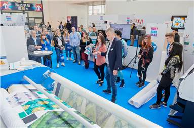 """Debbie McKeegan: """"We want to give our visitors the opportunity to see first-hand how digital print technology"""""""