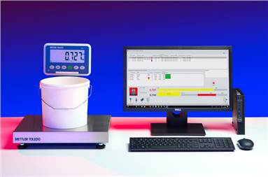 Colorsat FCS's automatic ink recipe calculations enable spot colours to be prepared