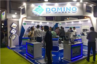 The Domino stall at the show
