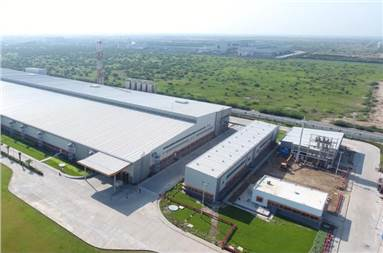 The aseptic plant in Sanand, Gujarat