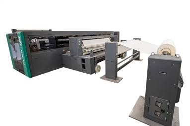 The new EFI Reggiani Hyper targets the industrial high-speed segment of the multi-pass textile printing sector