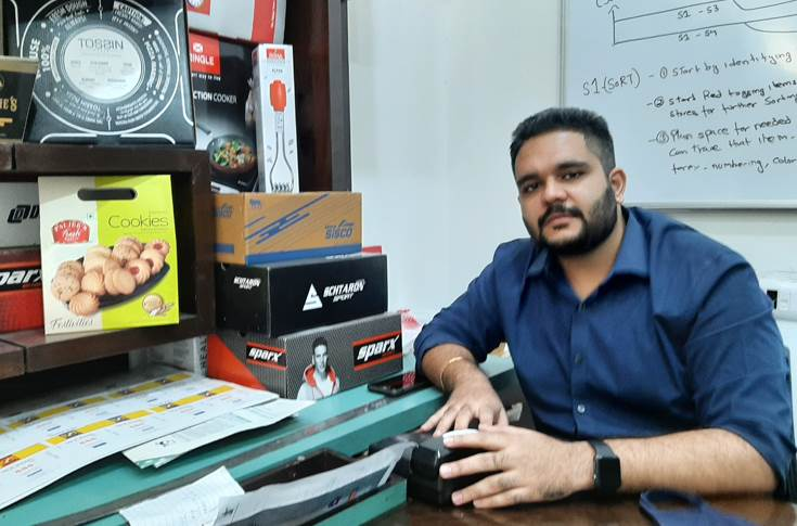Angad Minhas, director, SJ Packaging